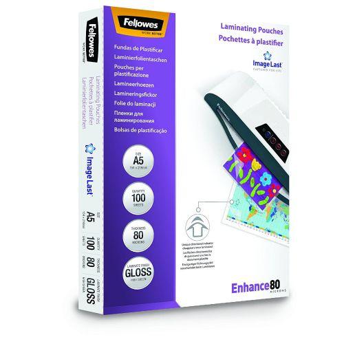 Laminating Pouch A5 2x80 micron (PK100)