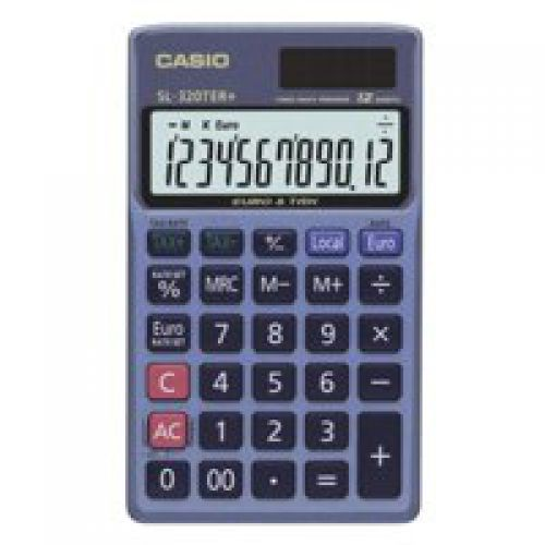 Casio SL-320TER 12-Digit Pocket Calculator
