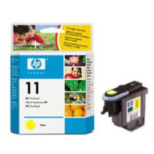 HP C4813A 11 Yellow Printhead 8ml