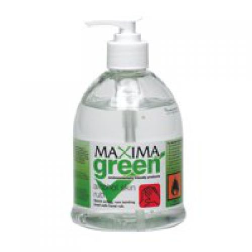 Value Maxima Green Alcohol Skin Sanitiser 450ml
