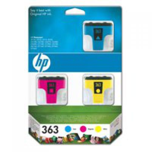 HP CB333E 363 Ink Multipack 3x 14ml