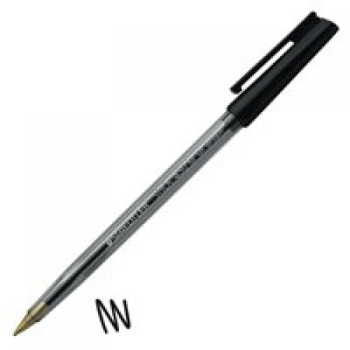Staedtler 430 Stick Ball Pen Med 0.35mm Black  PK10