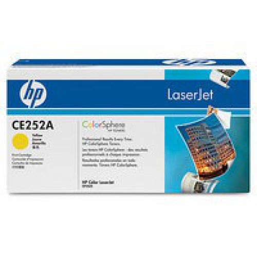 HP CE252A 504A Yellow Toner 7K