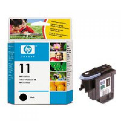 HP C4810A 11 Black Printhead 8ml
