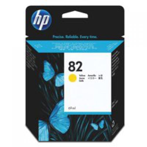 HP CH567A 82 Yellow Ink 28ml