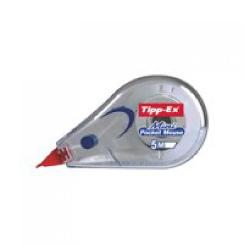 Tipp-Ex Mini Pocket Mouse Correction Tape White PK10