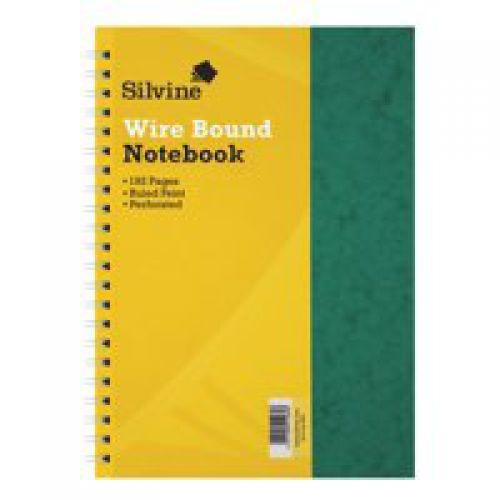 Silvine A4 Wirebound Pressboard PK6