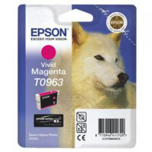 Epson C13T09634010 T0963 Vivid Magenta Ink 11ml