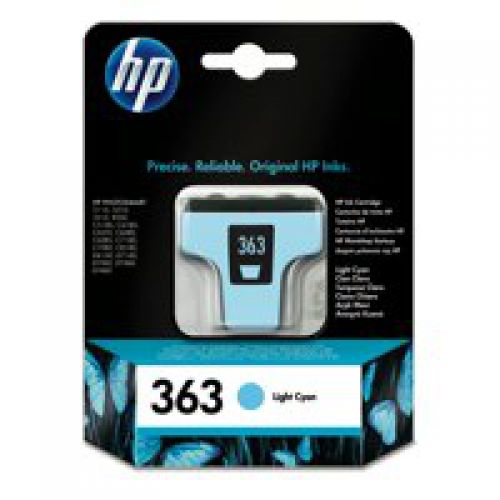 HP C8774E 363 Light Cyan Ink 4ml