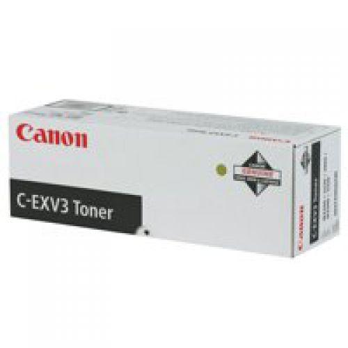 Canon 6647A002 EXV3 Black Toner 15K