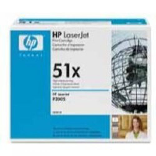 HP Q7551X 51X Black Toner 13K