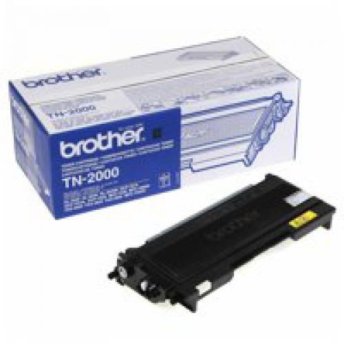 Brother TN2000 Black Toner 2.5K