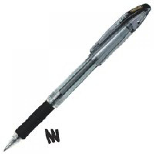 Zebra Jimnie Rollerball Gel Ink Pen Medium Black PK12