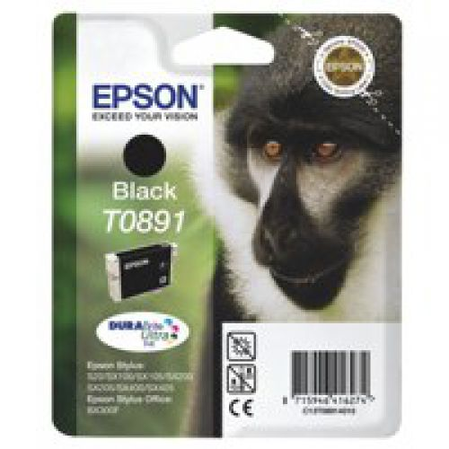 Epson C13T08914011 T0891 Black Ink 6ml