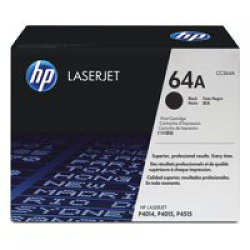 HP CC364A 64A Black Toner 10K