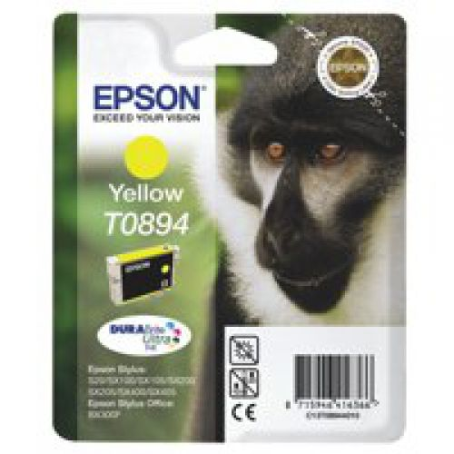 Epson C13T08944011 T0894 Yellow Ink 3.5ml