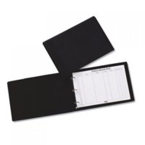 Concord Visitors Book Black/Grey 85710