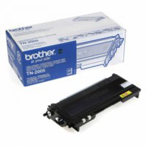 Brother TN2005 Black Toner 1.5K