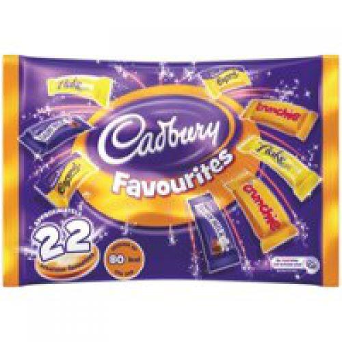 Cadburys Heroes Treat Size Variety Bag 20 Mini Snacks