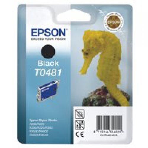 Epson C13T04814010 T0481 Black Ink 13ml