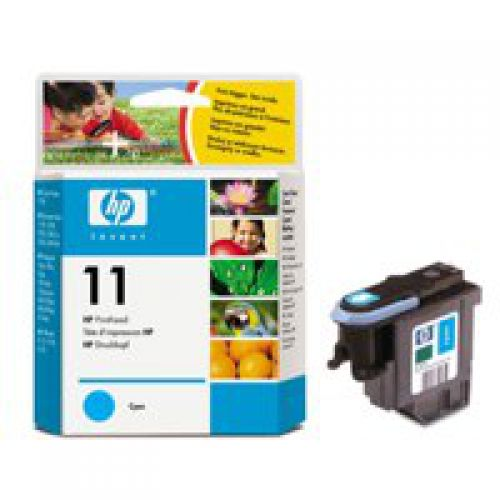 HP C4811A 11 Cyan Printhead 8ml