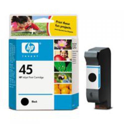 HP 51645A 45 Black Ink 42ml