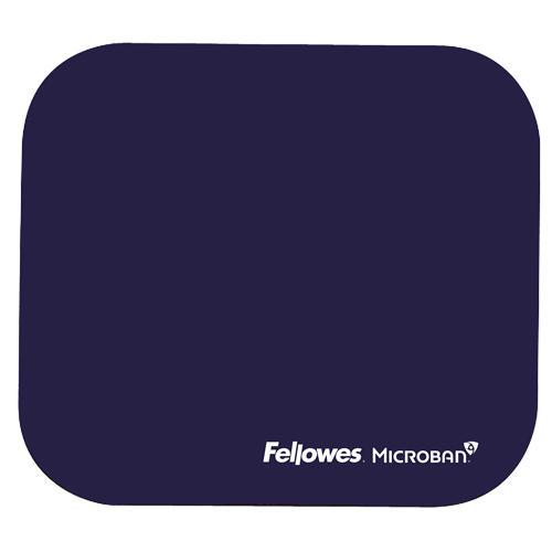 Value Fellowes Mouse Pad w/ Microban Protection Blue 5933805