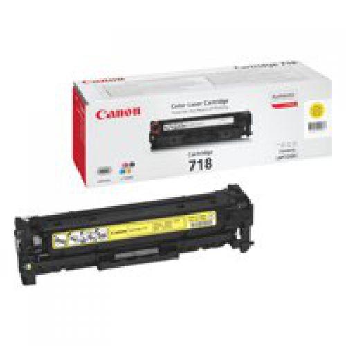 Canon 2659B002 718 Yellow Toner 2.9K
