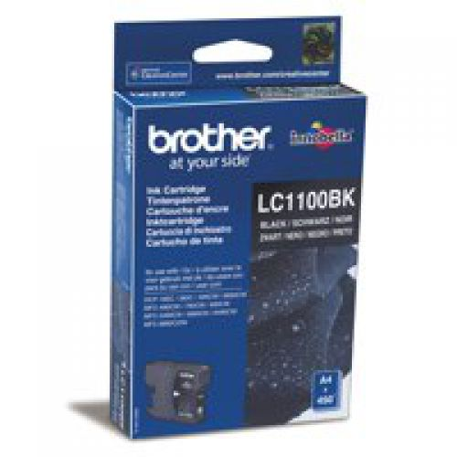 Brother LC1100BK Black Ink 10ml