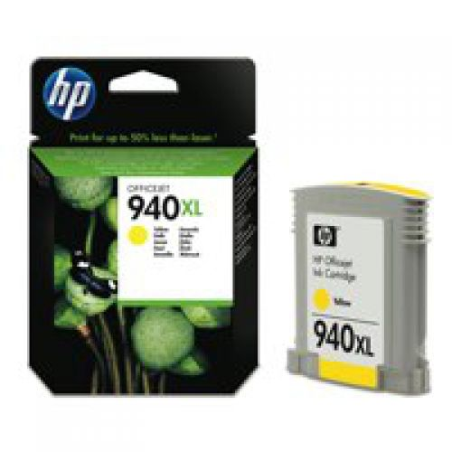 HP C4909A 940XL Yellow Ink 21ml