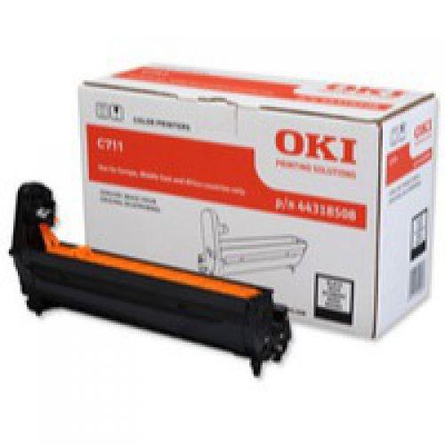 Oki C711 Black Image Drum 20K 44318508