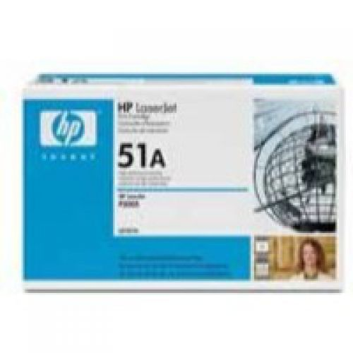 HP Q7551A 51A Black Toner 6.5K