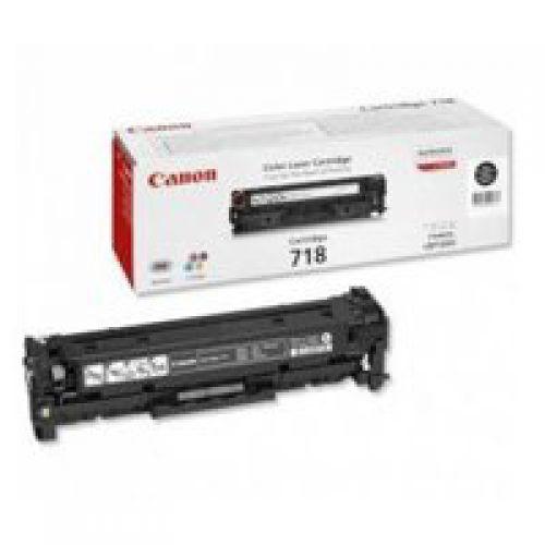 Canon 2662B002 718 Black Toner 3.4K