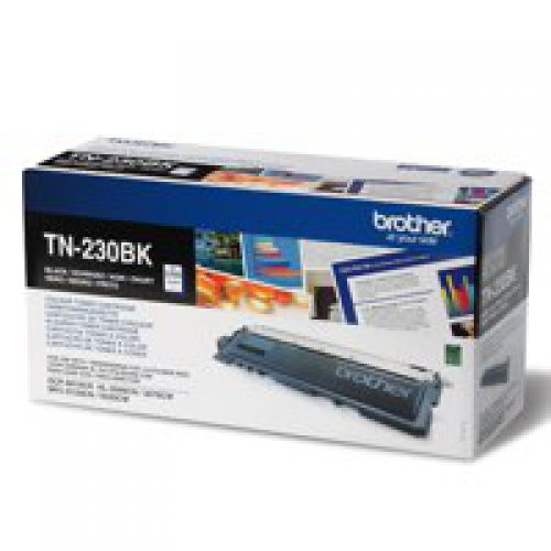 Brother TN230BK Black Toner 2.2K