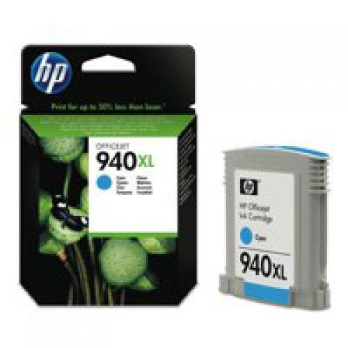 HP C4907A 940XL Cyan Ink 21ml
