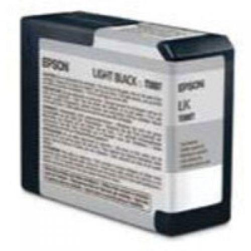 Epson C13T580700 T5807 Light Black Ink 80ml