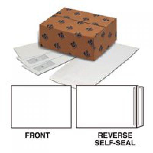 Plus Fabric Pocket Press Seal 120gsm Palin C5 White PK500