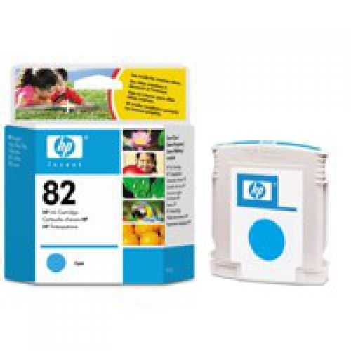 HP C4911A 82 Cyan Ink 69ml