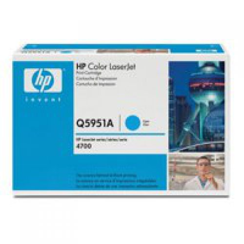 HP Q5951A 643A Cyan Toner 10K