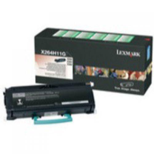 Lexmark X264H11G Black Toner 9K