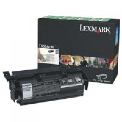 Lexmark T650A11E Black Toner 7K
