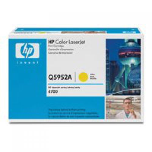 HP Q5952A 643A Yellow Toner 10K