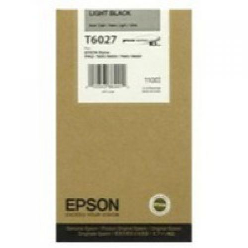 Epson C13T602700 T6027 Light Black Ink 110ml