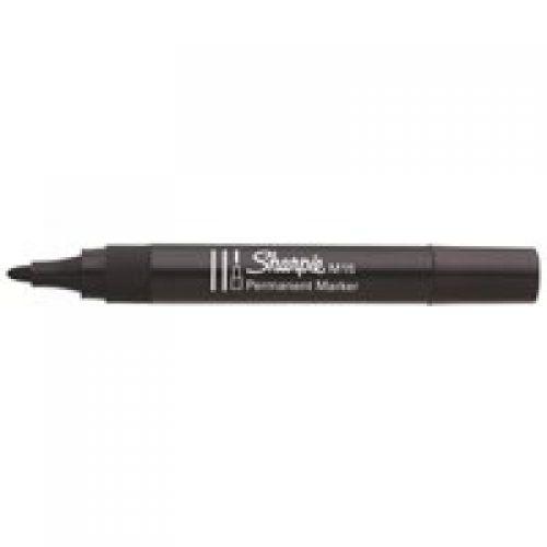 Sharpie M15 Permanent Marker Bullet Tip 1.8mm Line BK PK12