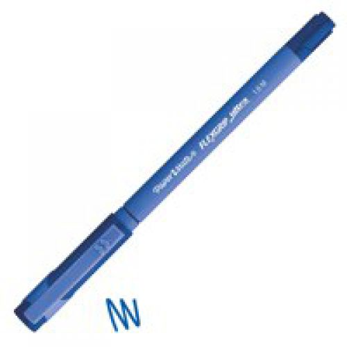 Paper Mate Flexgrip Capped Medium Blue PK12