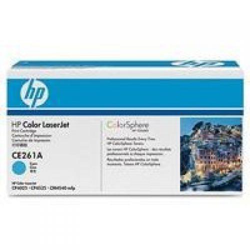 HP 648A Cyan Standard Capacity Toner 11K pages for HP Color LaserJet Enterprise CM4540/CP4025/CP4525 - CE261A