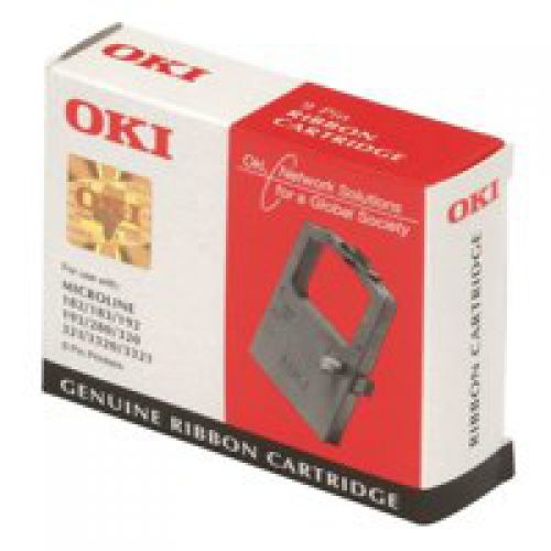 OKI 01126301 Black Ribbon 4 Million Characters