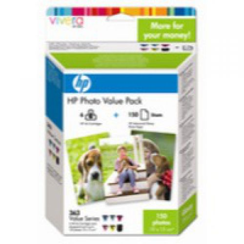 HP Q7966E 363 Photo Ink 6x 4ml Multipack