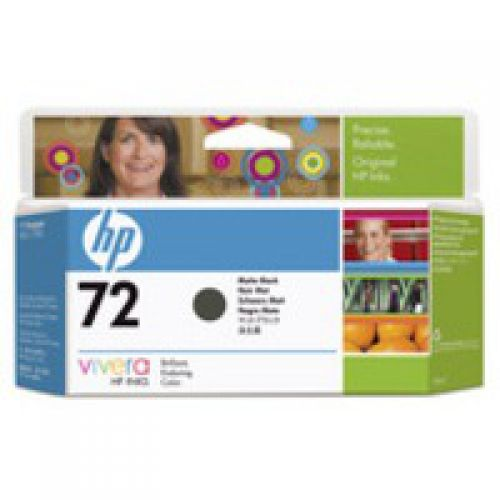 HP C9403A 72 Matte Black Ink 130ml