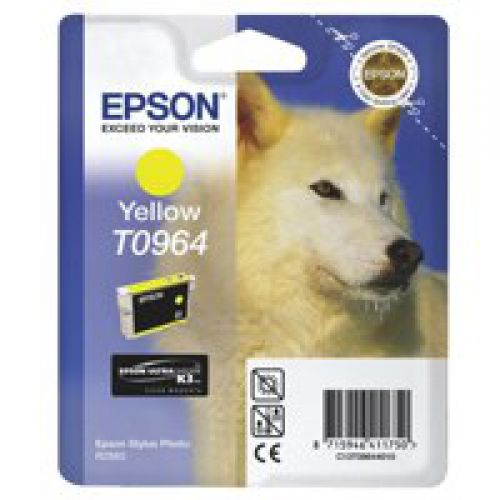 Epson C13T09644010 T0964 Yellow Ink 11ml
